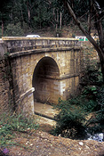 Australia, New South Wales, blue mountains, great dividing range, bridge, bridges, lennox bridge, historical bridge, historical bridges, blaxland, arch, arches, archway, archways, tunnel, tunnels.