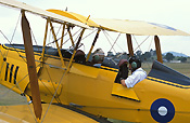 Australia, New South Wales, NSW, vintage plane, vintage planes, biplane, biplanes, bi-plane, bi-planes, transport, transportation, vehicle, vehicles, pilot, pilots, plane, planes, aircraft, aircrafts, tiger moth, tiger moths, man, men, male, males, outdoors, aeroplane, aeroplanes, light, airport, airports, pilot, pilots, passenger, passengers, aviation.