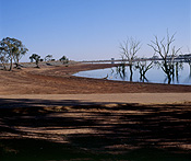Victoria, vic, outback, australian outback, outback australia, tree, trees, Climate, Weather, Drought, Drought scene, Drought Scenes, Australia, reservoir, reservoirs, water, water storage.