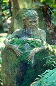 Australia, Vic, Victoria, Dandenong, Dadenongs, Mount Dandenong, Mt Dandenong, Ricketts, William, William Ricketts, William Ricketts Sanctuary, Sanctuary, Sanctuaries, art, sculpture, sculptures, William ricketts sculpture, william ricketts sculptures, IS47,
