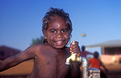 Australia, Anmatyerr, anmatyerr country, community, communities, australian, australian people, child, children, boy, boys, male, males, aboriginal, aborigine, aboriginals, aborigines, aboriginal people, aboriginal child, aboriginal children, aborigine child, aborigine children, indigenous people, Yuwelamu, Mount Allan, NT, Northern Territory, tap, taps, water tap, water taps, old tap, old taps.