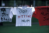 Violence, domestic, abuse, domestic violence, australia, sa, south australia, protest, protests, washing, washing line, washing lines, peg, pegs, washing peg, washing pegs, clothes, clothing, social issues.