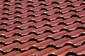 Pattern, patterns, background, backgrounds, effect, effects, repetition, repetitious, repetitive, roof, roofs, rooves, architecture, tile, tiles, roof tile, roof tiles.