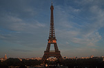 France, Europe, French, Architecture, French architecture, Building, Buildings, Paris, Eiffel, Eiffel Tower, Tower, Towers, Alexandre Eiffel, Alexandre Gustave Eiffel, Alexandre-Gustave Eiffel, Iron, Metal, Metal structure, Metal structures, dusk, FF25,