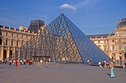 France, Europe, French, Architecture, French architecture, Building, Buildings, Paris, Art, Art Museum, Art Museums, Museum, Museums, Louvre, The Louvre, Grand Louvre, Great Louvre, Musee du Louvre, pyramid, pyramids, glass pyramid, glass pyramids, glass, glass structure, glass structures, dusk, FF25,