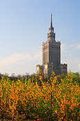 Europe, warsaw, poland, architecture, palace, palaces, culture, science, place of culture and science, FF25,