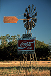 Australia, Victoria, Vic, Albury, sign, signs, windmill, windmills, coke, coca cola, coca-cola, advertisement, advertisements, advertising, FF25,