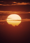 Sun, the sun, sunrise, sunrises, sunset, sunsets, sunrises and sunsets, circle, circles, sky, skies, sky scene, sky scenes, cloud, clouds.