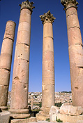 Jordan, Middle East, Middle Eastern country, Middle Eastern Countries, architecture, gerasa, jerash, artemis, artemis temple, temple of artemis, temple, temples, column, roman, ruin, ruins, pillar, pillars.