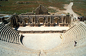 Jordan, Middle East, Middle Eastern country, Middle Eastern Countries, architecture, gerasa, jerash, theatre, theatres, south theatre.