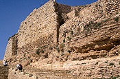 Jordan, Middle East, Middle Eastern country, Middle Eastern Countries, keak, keak castle, castle, castles, architecture, wall, walls.