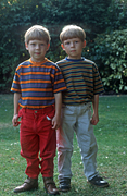 People, child, children, twin, twins, boy, boys, male, males, identical, identical twins, Australia, Sport pictures, Sports, balloon images, hot air balloons