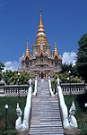 Asia, Thailand, architecture, temple, temples, thailand temples, religion, religious building, religious buildings, step, steps, stairs.