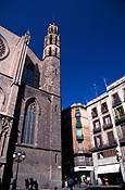 Europe, Spain, Barcelona, Architecture, Santa Maria, Santa Maria Del mar church, church, churches, religion, religous, religious building, religious buildings, FF25,