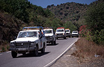 Spain, costa dorada, road, roads, sealed road, sealed roads, jeep, jeeps, four-wheel drive, four-wheel drives, 4wd, 4wds, FF25,