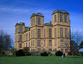 Europe, Western Europe, UK, Britain, British Isles, England, United Kingdom, Great Britain, derbyshire, architecture, hardwick, hardwick hall, mansion, mansions, garden, gardens, english, lawn, lawns, FF25,