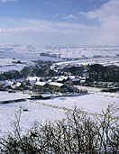 Europe, Western Europe, UK, Britain, British Isles, England, United Kingdom, Great Britain, derbyshire, winter, snow, winter scene, winter scenes, village, villages, peak, peak district, litton, snow scene, snow scenes, FF25,