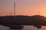 Australia, New South Wales, australia, yacht, yachts, boat, boats, boating, Gosford, mooring, moorings, sunset, sunsets, sunrises and sunsets.