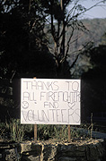 Fire, Fires, bushfire, bushfires, sign, signs, road sign, road signs, roadsign, roadsigns, signpost, signposts, sign post, paper, sign posts, disaster, sydney bushfire, sydney bushfires, sydney, disasters, volunteer, volunteers, volunteering.