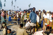 Africa, African, Africans, Civil War, Civil Wars, Rwanda, Rwandan, Rwandan Civil War, Rwandan Refugee Camp, Rwandan Refugee Camps, Refugee Camp, Refugee Camps, Refugee, Refugees, people, child, children, crowd, crowds, JRH24,