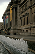 USA, America, United States, United States of America, New York, New York city, architecture, metropolitan, metropolitan museum, museum, museums, fifth avenue, 5th avenue, fountain, fountains, FF25,