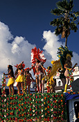 Caribbean, the caribbean, carribean islands, martinique, port de france, palm, palms, palm tree, palm trees, carnival, carnivals, festival, festivals, people, FF25,