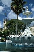 Caribbean, caribbean islands, the caribbean, barbados, bridgetown, national heroes square, fountain, fountains, FF25,