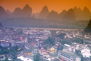 Asia, China, Yangshuo, Guangxi province, provinces, mountain, mountains, mood, mood scene, mood scenes.