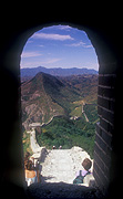 Asia, china, simatai, wall, walls, great wall, great wall of china, the great wall of china, arch, arches, archway, archways.