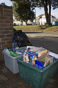 Rubbish, garbage, recycle, recycles, recycling, container, containers, bag, bags, plastic, plastic bag, plastic bags, bottle, bottles, plastic bottle, plastic bottles, cardboard, cardboard box, cardboard boxes, wall, walls, Australia, Sport pictures, Sports, balloon images, hot air balloons