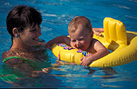 Child, children, baby, babies, infant, infants, mother, mothers, female, females, pool, pools, swimming pool, swimming pools, flotation, flotation aid, flotation aids, outdoors, swim, swims, swimming, safety, child safety, woman, women, outdoors, life saver, life savers, safety, caution, livesaving, water safety, safety, Australia, Sport pictures, Sports, balloon images, hot air balloons