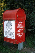 Mail, letterbox, letterboxes, communication, sign, signs.