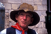 Man, men, australia, male, males, hat, hats, farmer, farmers, scarf, scarves, portrait, portraits, people, old man, old men, old, aged, elderley, elderly man, elderly men, aged man, aged men, aged people, elderly people, smile, smiles, smiling.