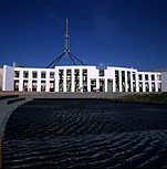 Australia, ACT, Australian Capital Territory, territory, territories, Canberra, great dividing range, sky, skies, blue sky, blue skies, parliament house, parliament houses, parliament, government, water.