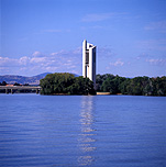 Australia, act, australian capital territory, territory, territories, Canberra, great dividing range, lake, lakes, burley griffin, lake burley griffin, water, carillon, carillons, national carillon, island, islands, aspen, aspen island, tower, towers, architecture, bell, bells, bell tower, bell towers.