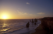 Australia, vic, victoria, twelve apostles, 12 apostles, National Park, National Parks, port campbell, port campbell national park, australia's national parks, limestone, limestone cliff, limestone cliffs, coast, coastal, coastline, coastlines, sunset, sunsets, sunrises and sunsets, mood, mood scene, mood scenes.