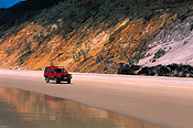 Australia, qld, queensland, rainbow beach, beach, beaches, coast, coasts, coastline, coastlines, seashore, seashores, shoreline, shorelines, car, cars, vehicle, vehicles, four-wheel drive, four-wheel drives, 4wd, 4wds, fourwheel drive, fourwheel drives, motor vehicle, motor vehicles.