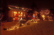 Canada, vancouver, british columbia, christmas, christmas scene, light, lights, christmas lights, decoration, decorations, christmas decoration, christmas decorations.