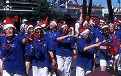 Australia, sa, south australia, people, woman, women, aged, old, elderly, old woman, old women, elderly woman, elderly women, aged people, old people, elderly people, christmas, christmas scene, christmas scenes, parade, parades, entertainment.