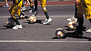 People, australia, child, children, boy, boys, male, males, uniform, uniforms, ball, balls, football, footballs, team, teams, Sport pictures, Sports, soccer, soccer ball, soccer balls.