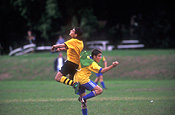 Sport pictures, Sports, people, child, children, puberty, outdoors, football, football game, football games, child, children, teenager, teenagers, teenage boy, teenage boys, boy, boys, male, males, soccer, soccer game, soccer games.