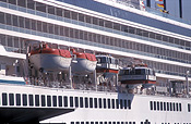 Transport, transportation, vehicle, vehicles, ship, ships, shipping, vessel, vessels, cruise ship, cruise ships, liner, liners, cruise liner, cruise liners, crystal harmony, lifeboat, lifeboats, Pb10