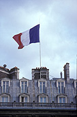 Flag, flags, french flag, french flags, flag pole, flag poles, france, french, Europe, architecture.