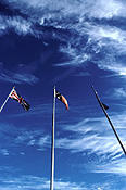Australia, nt, northern territory, alice springs, casino, casinos, flag, flags, flag pole, flag poles, australian, australian flag, australian flags, cloud, clouds.