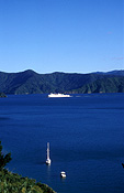 New zealand, nz, south island, ferry, ferries, queen charlotte sound, picton.