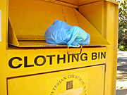 Bin, bins, charity, charities, bag, bags, plastic, plastic bag, plastic bags, australia.