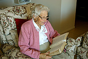 Australia, people, woman, women, female, females, old woman, old women, elderly woman, elderly women, old, aged, elderly, retire, retiree, retirees, retirement home, retirement homes, retirement village, retirement villages, bible, bibles, holy bible, holy bibles, read, reads, reading, book, books, paper.