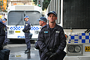 Australia, New South Wales, police, police force, emergency service, emergency services, emergency service, emergency services, transport, bus, buses, law, law enforcer, law enforcement, law and order, sydney, people, apec, apec demonstration, demonstrator, demonstrators, demonstration, demonstrations, protest, protests, asia pacific economic cooperation.