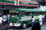 Philippines, bus, buses, transport, transportation, vehicle, vehicles, sign, signs.