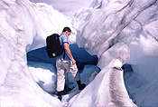 NZ, New Zealand, south island, people, glacier, glaciers, fox glacier, winter, winter scene, winter scenes, snow, cold, coldness, snow scene, snow scenes, cave, caves.